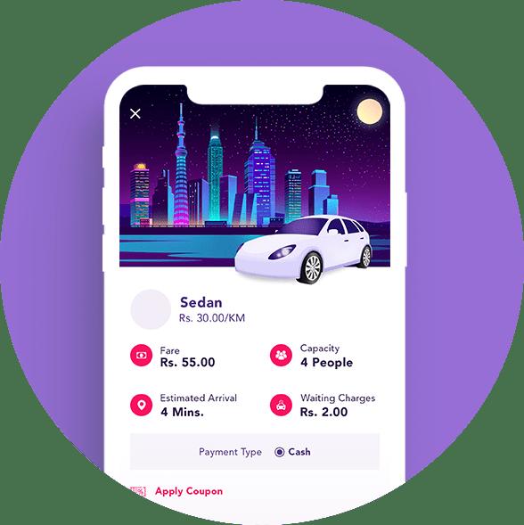 uber clone development