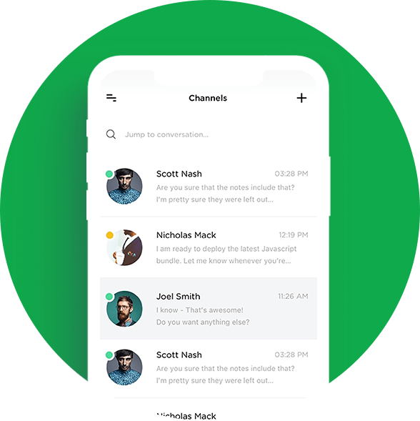 whatsapp clone app